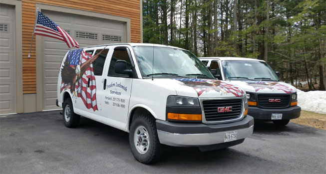 Falmouth, Maine Locksmith Company Freedom Locksmith Services